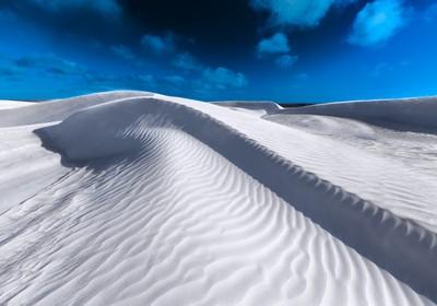 White Sand Shadows