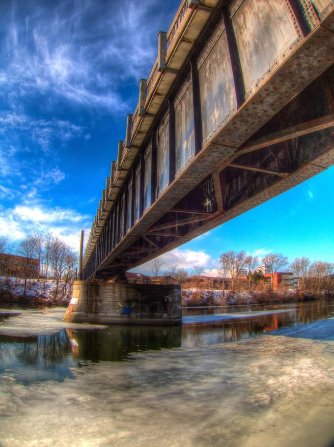 Rusty Bridge by docbadger1 - Under The Bridge Photo Contest
