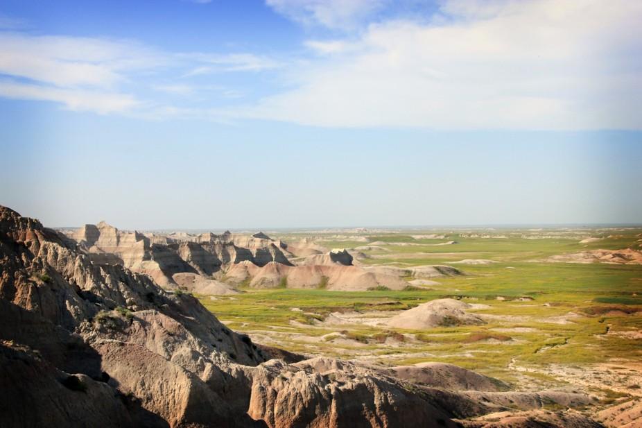 Summer in the Badlands of South Dakota