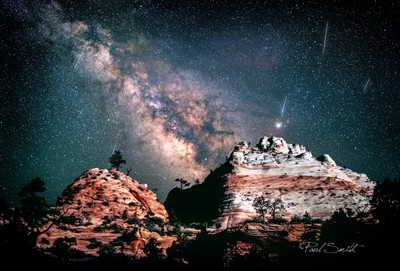 Milky way Over Zion