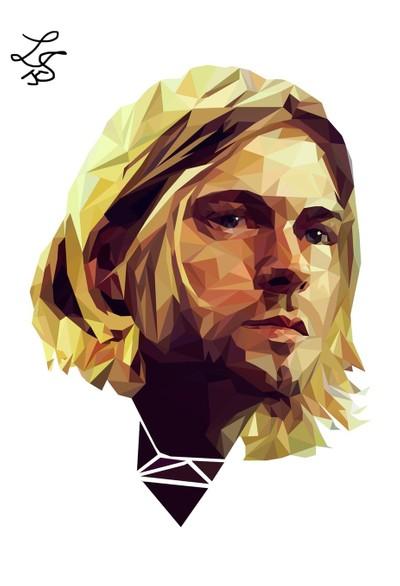 Kurt Cobain Illustration