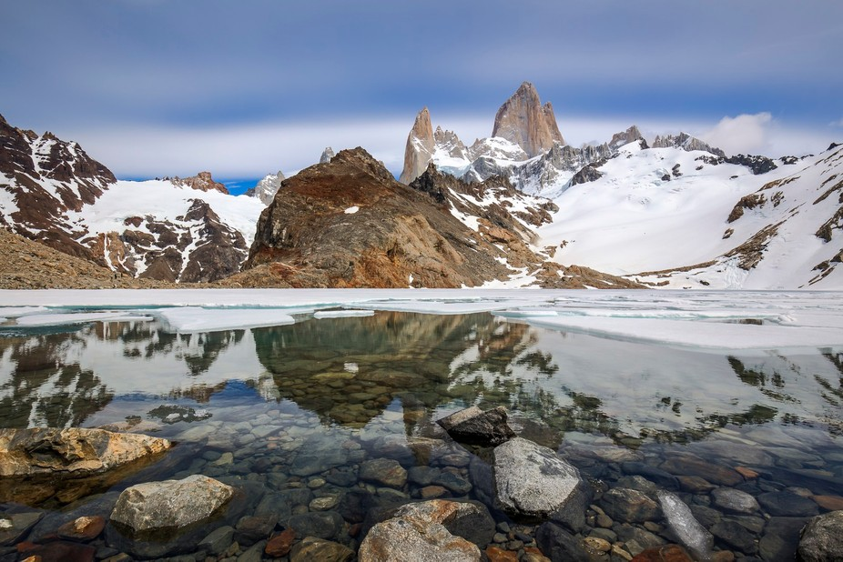 What a beautiful and rewarding view you have once you mastered the challenging hike of 11 km (22 ...
