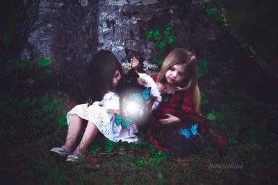 lantern held