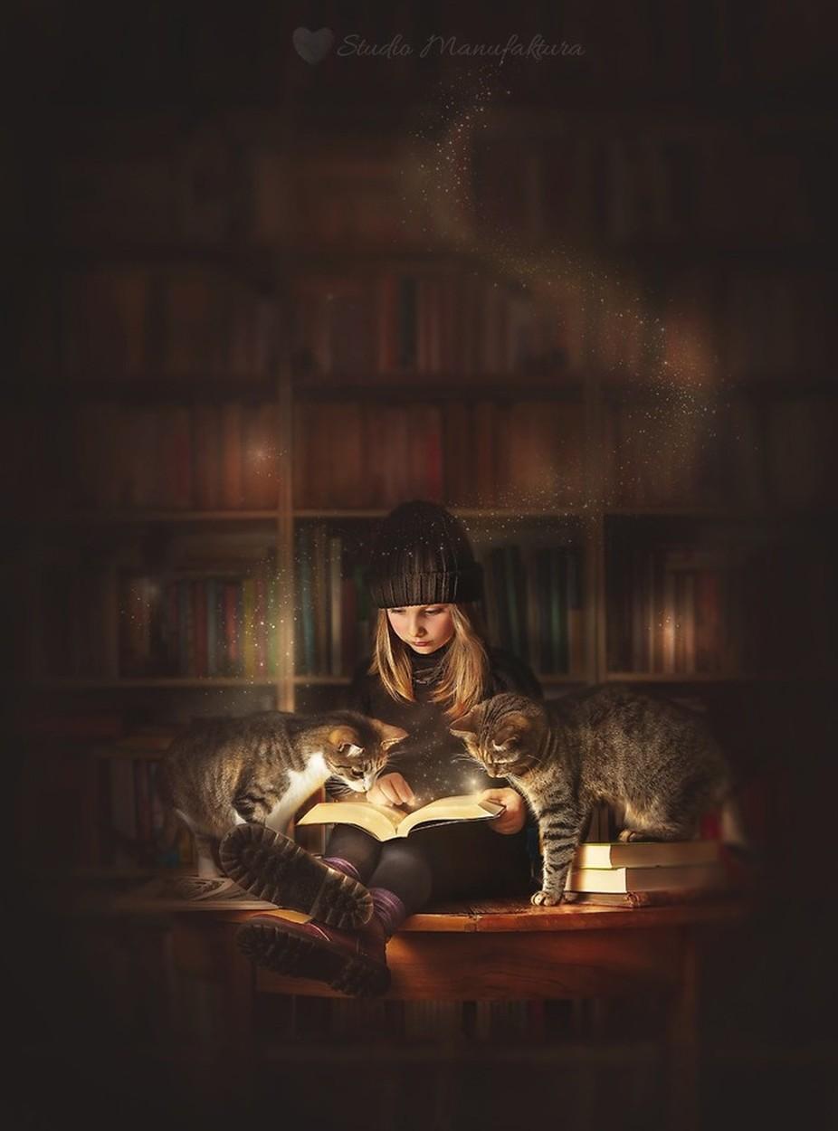 Thieves books by agnieszkafilipowska - Kids And Pets Photo Contest