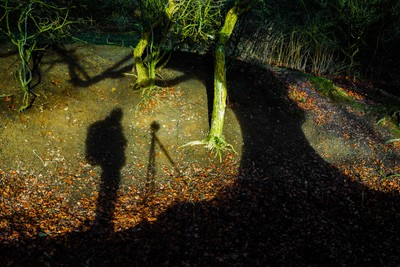 Selfy: Me and my shadow