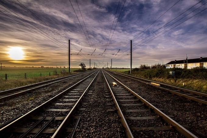 train trax by dantheman100 - Empty Railways Photo Contest