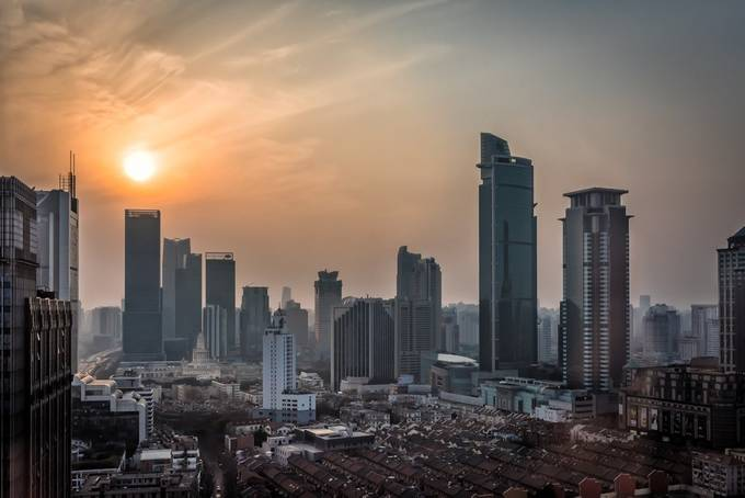 Shanghai by SarahCaldwell - Sunset In The City Photo Contest