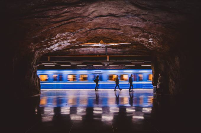 Fridhemsplan by esziger - Metro Stations Photo Contest