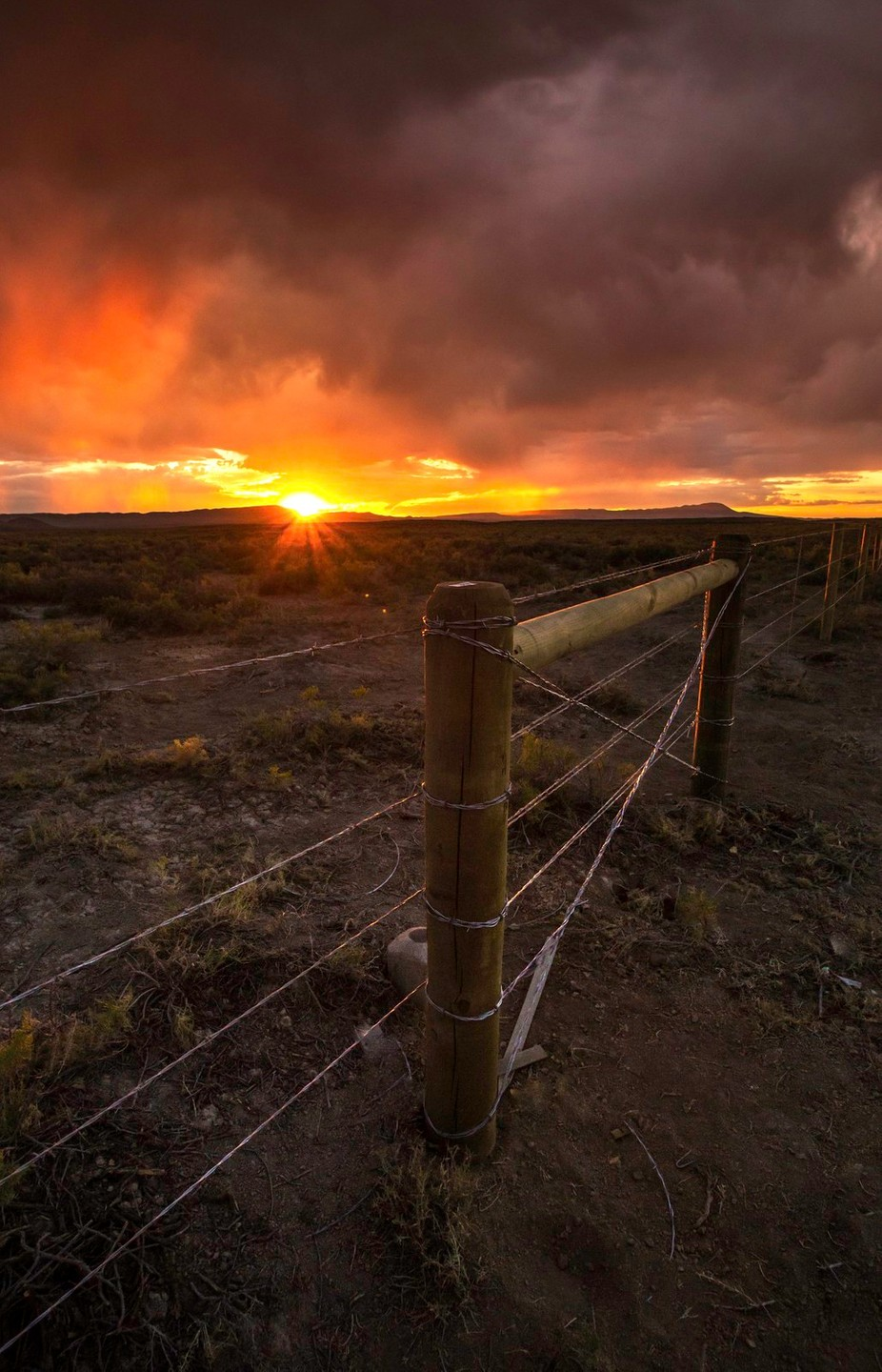 wyoming fence by kyleames - Rails and Fences Photo Contest