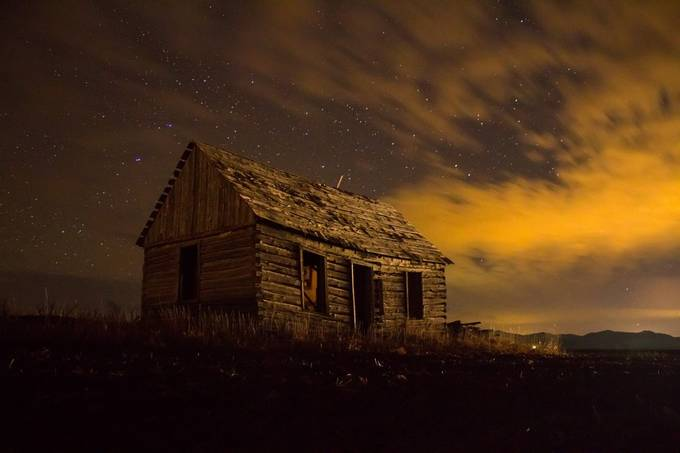 Old House by seththomas - Cloudy Nights Photo Contest