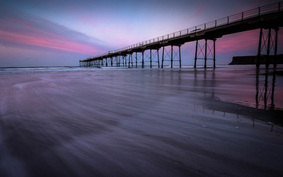 The Pier At Dusk.