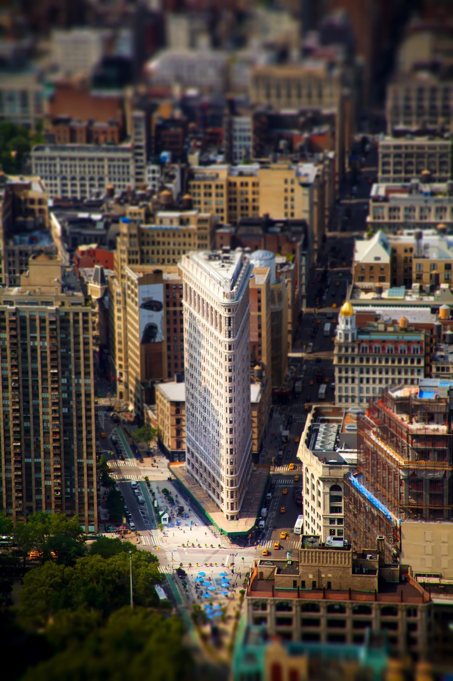Flatiron Tilt Shift by theshawnamiller - TiltShift Effect Photo Contest
