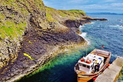 Staffa Island, Inner Hebrides, Scotland