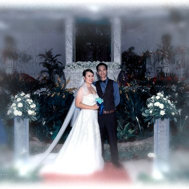 The Newly Wed Arnaldo Gonzaga Jr. and Mary Grace Gulmatico.