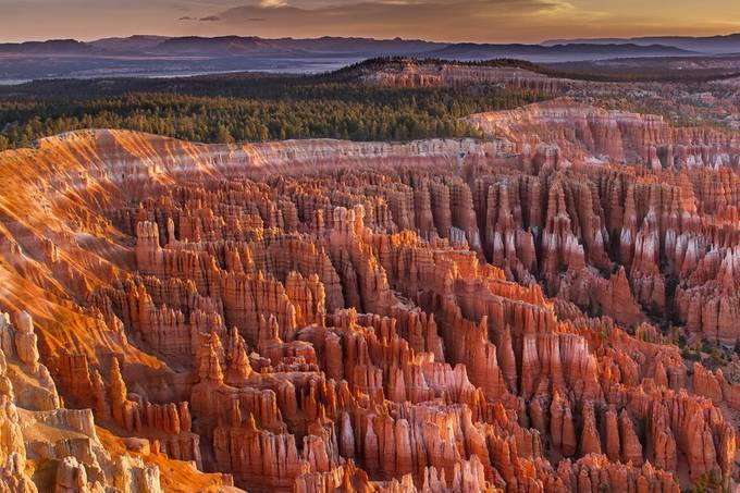 Silent City at Bryce Canyon by EduardMoldoveanu