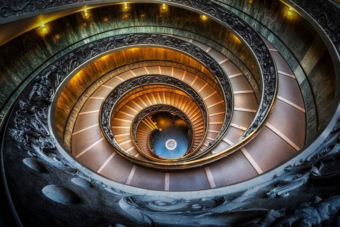 Inspired by aaronchoiphoto - Stairways Photo Contest