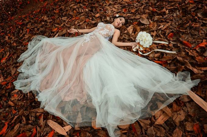 Bride in the Forest by terryl_eugenio - Beautiful Brides Photo Contest