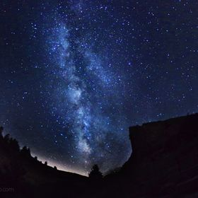 Here is a cool Milky Way shot from my last midnight adventure to Castlewood Canyon with my good buddy. Even with the dangers of hiking at night o...