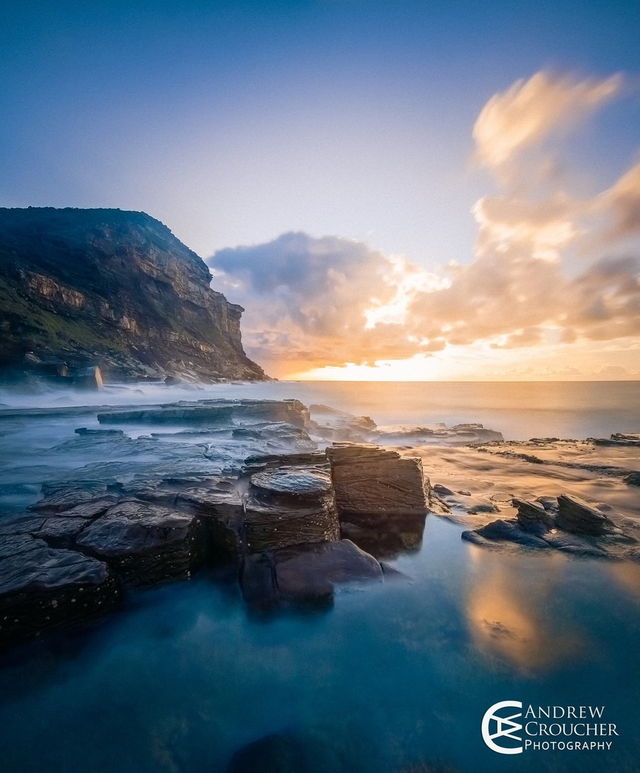 Mystical Garie Beach - Royal National Park by andrewcroucher - Spectacular Cliffs Photo Contest