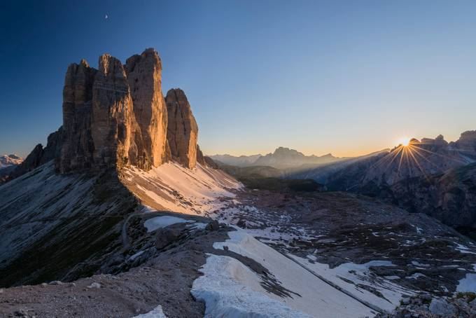Tre Cime sunset by razvaniliescu - Our Natural Planet Photo Contest