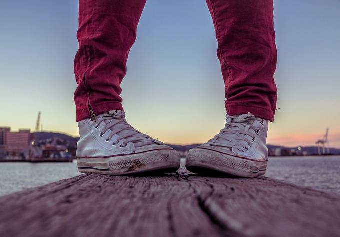 Chucks by ianjamesphotography - Cool Shoes Photo Contest