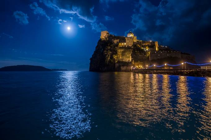 Ischia Island. by giancarlomontico - Light On Water Photo Contest
