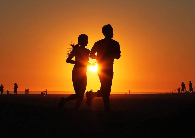 Dawn Burns_Sunset Run_Venice Beach_2015 by dawnburns - Running Photo Contest
