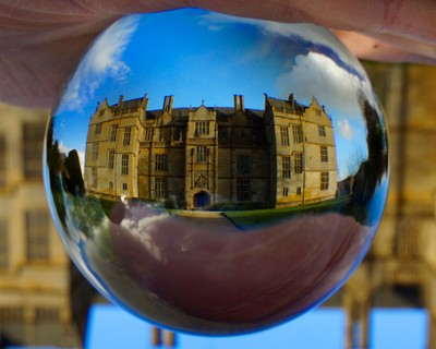 montacute house 2 crystal ball inverted