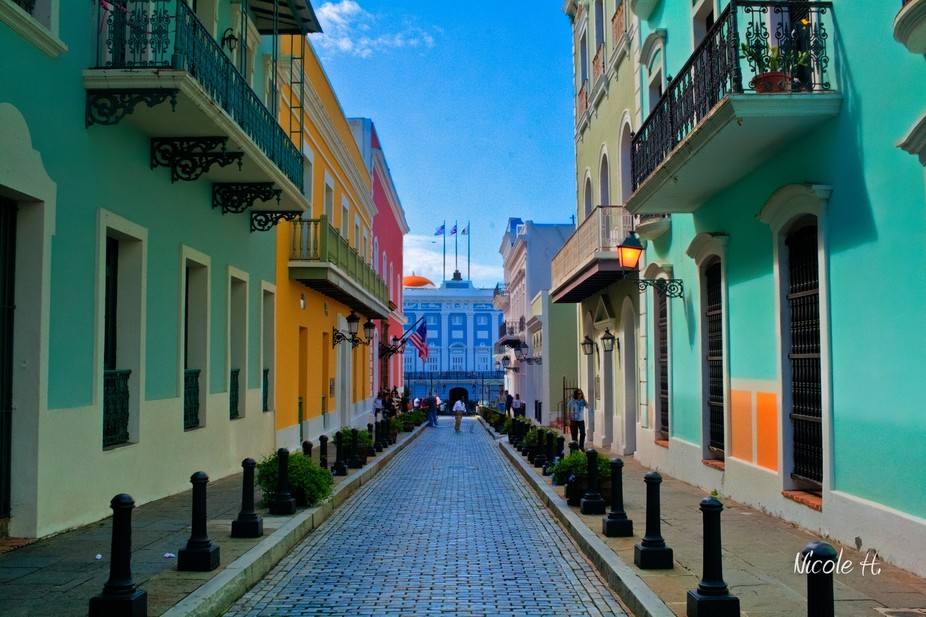 Old San Juan perspective
