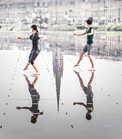 Bordeaux Mirror Dancers