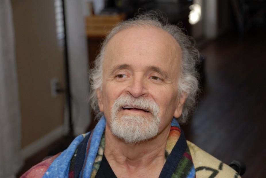 My dad, Ralph, who has Lewy body dementia.