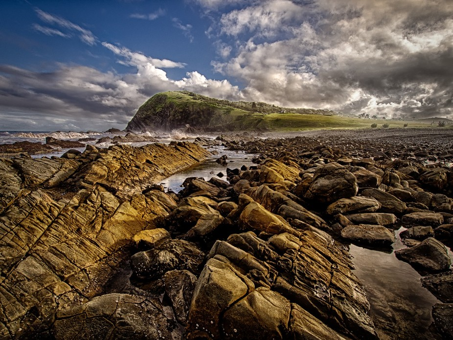 Taken at Pebbly Beach at Crescent Head, NSW, Australia