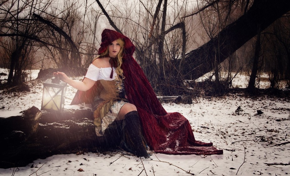 Red Ridding Hood Shoot