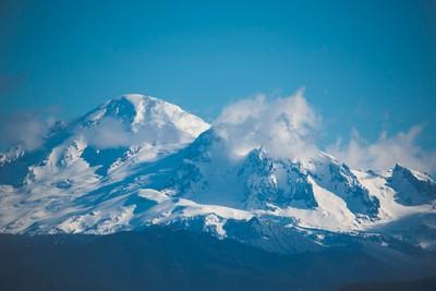 Mount Baker In February