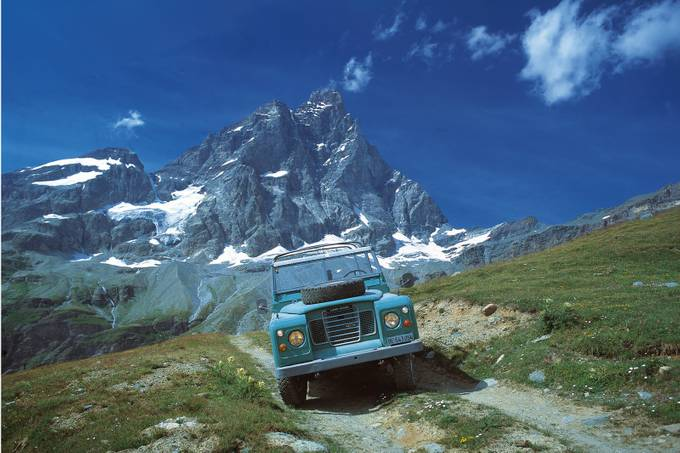 Cermatt and a Swiss Land Rover by annetteflottwell - My Favorite Car Photo Contest