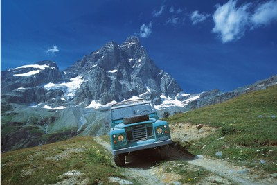 Cermatt and a Swiss Land Rover