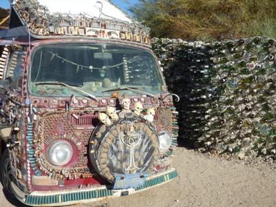 Skulls VW Hippie Van