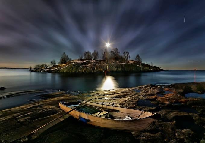 Uunisaari Helsinki Finland by Richard-Beresford-Harris - Night Wonders Photo Contest