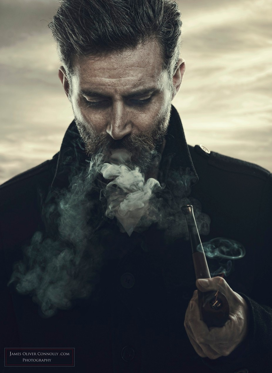 Sailor Smoke by JamesOliverConnolly - Fine Art Portraiture Photo Contest