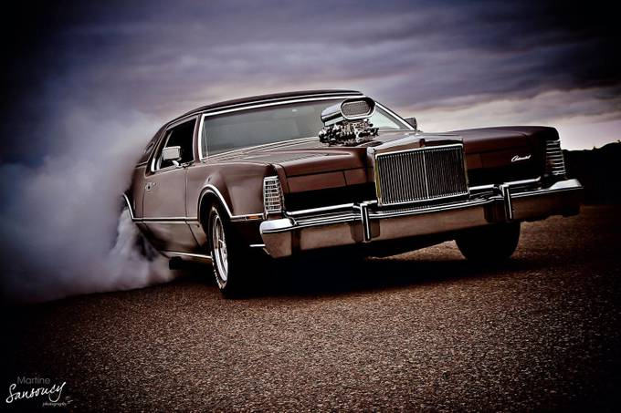 Supercharged hot rod Lincoln  by martinesansoucy - My Favorite Car Photo Contest