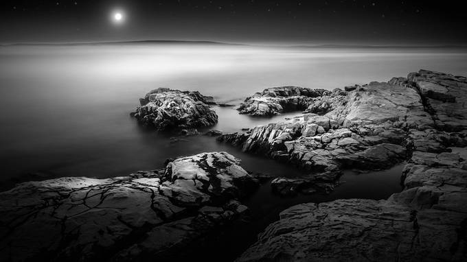 lonely planet  by tadejturk - Black And White Landscapes Photo Contest