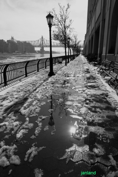 Cold Walk on the East River