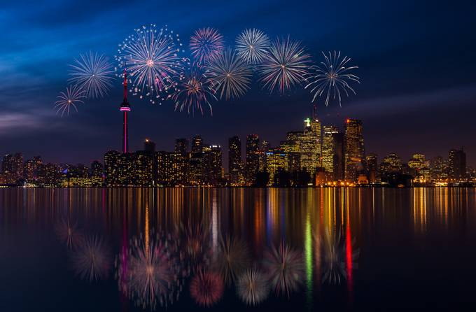Bharat Mistry-Toronto Celebration by Q-Vision - Light On Water Photo Contest