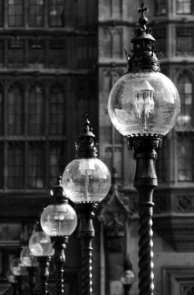city lamps