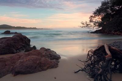 Little Beach Redrock early morning