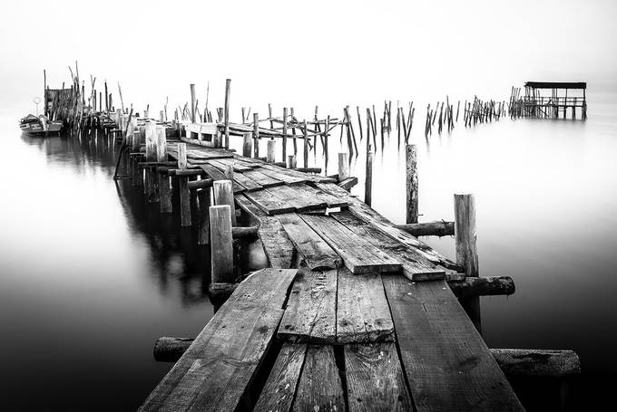 Path To Eternity by antoniolaranjeira - Black And White Compositions Photo Contest