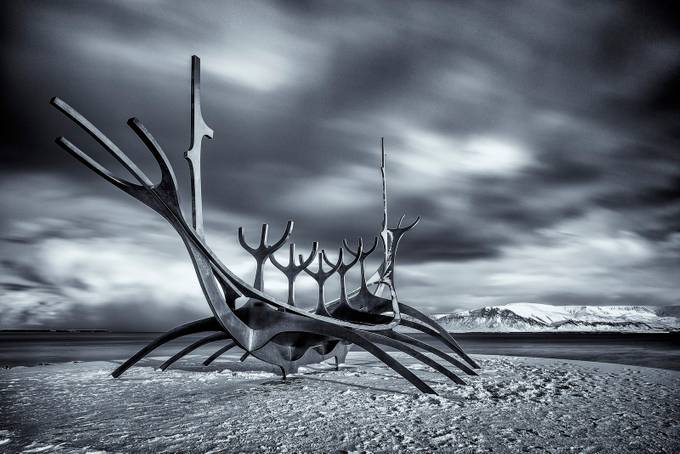 Viking Memorial by HathsinPhotography - Metallic Matter Photo Contest