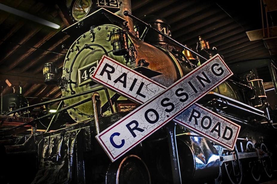 train antiqued