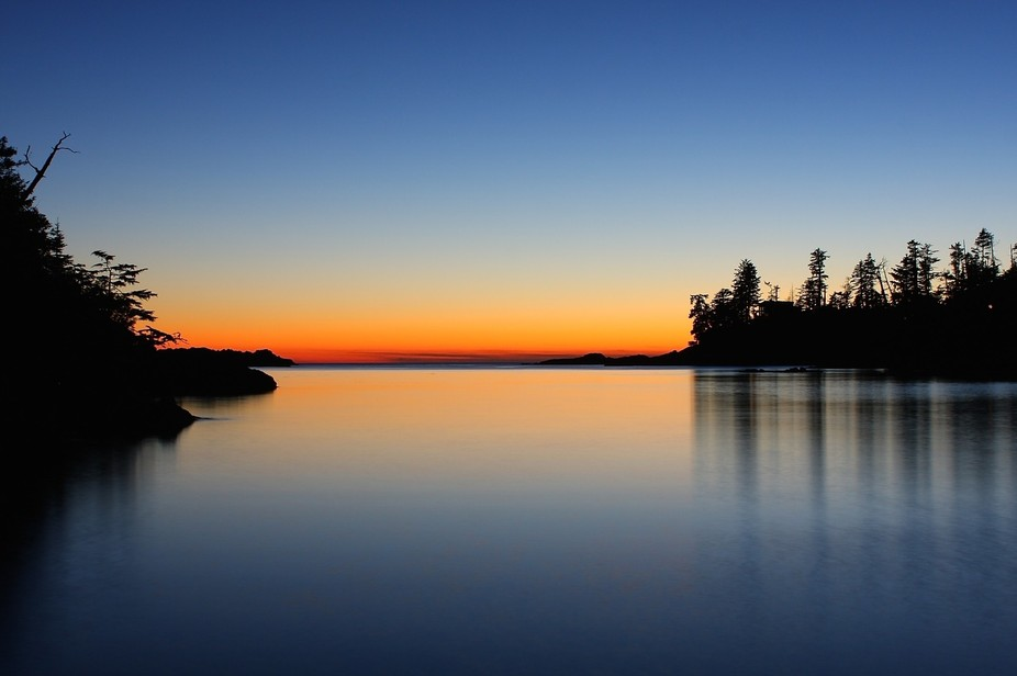 This sunset was taken on the west coast of Vancouver Island in Ucluelet, BC. We were driving back...