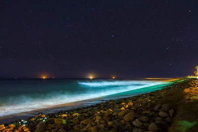 Stars over Surfers' Point, Ventura, California